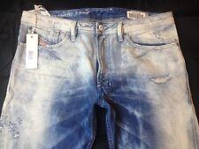 $348 NWT Diesel Shioner 0828V 828V 32W Slim-Skinny Mens Jeans Made in Italy