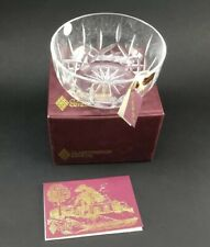 Clarenbridge Crystal Glass Bowl/dish  New In Box.signed