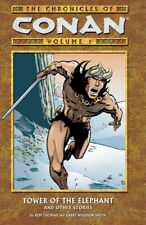 Chronicles of Conan Volume 1 Tower of the Elephant GN Barry Windsor-Smith New NM