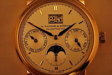 A Lange & Sohne 330.032, Saxonia Annual Calendar Moonphase, 100% new with tag