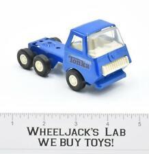 Blue Car Hauler Semi Truck #2 Vintage Pressed Steel Tonka