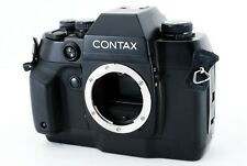 *Near Mint* Contax AX 35mm SLR Film Camera Black Body Only From JAPAN