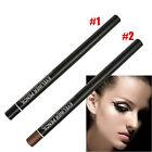 2pcs Waterproof Rotary Gel Cream Eye Liner Black Makeup Cosmetic Eyeliner Pen SE