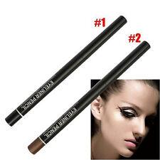 2pcs Waterproof Rotary Gel Cream Eye Liner Black Makeup Cosmetic Eyeliner BenFLC