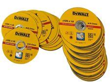 Pack 30 discos amoladora corte fino Inox DeWalt 125mm (3 latas 10u) Dt3507-qz