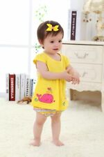 Baby Rompers Summer Baby Girls Clothing Sets Cute Newborn Toddler Clothes Roupa