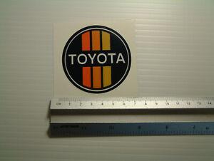 Toyota Sticker Decal Classic retro vintage 1970s style
