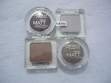 4x Catrice Lidschatten Set braun-burgund matt