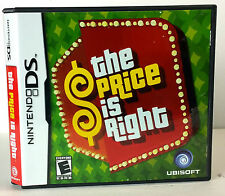 The Price Is Right (Nintendo DS, 2008) Ubisoft, Game Card, Book & Case, COMPLETE