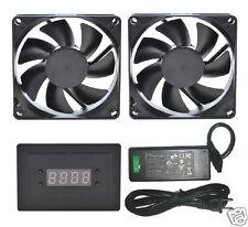 PROCOOL AVP-280T AV Cabinet Cooling Fan System with Temp control (2 FANS)