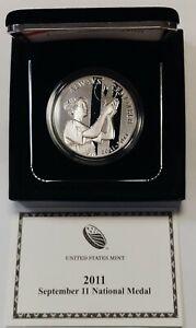 2011-W September 11th National Medal GEM Proof Commemorative Original Box w/COA