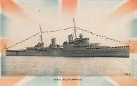 POSTCARD  SHIPS   HMS  SOUTHAMPTON