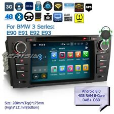 "Android 8.0 BMW Autoradio E90 E91 E92 E93 3 Series DAB+Car DVD TNT OBD BT 7""7867"