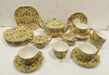 50er- & 60er-Jahre-Keramiken mit Blumen-Motiv