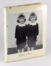 1972 DIANE ARBUS PHOTOGRAPHY MONOGRAPH FIRST EDITION TWO GIRLS IN RAINCOATS