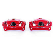 Power Stop Rear Red Calipers w/Brackets for 12-17 Ford F-150