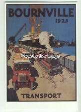 ad3615 - Bournville Cocoa - Cadbury - Transport in 1925 - Modern Advert Postcard