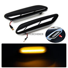 LED Dynamic Side Marker Fender Light For MINI Cooper Countryman Paceman R60 R61