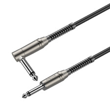 Roxtone Instrument Cable 6,3mm Right Angle Mono Jack Plug - 19 Ft