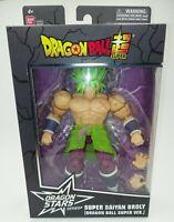"Bandi Dragon Ball Super Dragon Star Series Super Saiyan Broly 7"" Action Figure"