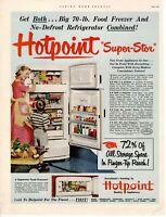 1952 ORIGINAL VINTAGE HOTPOINT APPLIANCE MAGAZINE AD