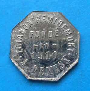 88 Vosges Remiremont Trianon A. Demesy 10 centimes