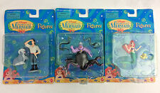 Disneys The Little Mermaid Figures Toys Lot NEW NIB Ariel Ursula Prince Eric 90s