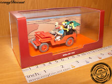 JEEP WILLYS MB 1943 1:43 TINTIN LAND OF THE BLACK GOLD