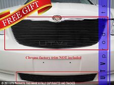 GTG 2007 - 2010 Chrysler Sebring 2PC Gloss Black Replacement Billet Grille Kit