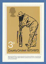 BRITISH POST OFFICE -  EXTREMELY RARE PHQ CARD - NO. 1 - W. G.  GRACE - 1973