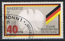 807 ESST Bonn  Einzelmarke  Block 10, BRD 1974