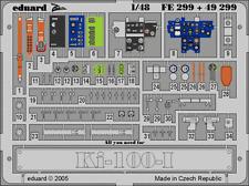 Eduard Zoom fe299 1/48 KAWASAKI ki-100 mi HASEGAWA