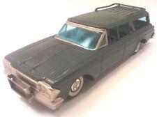 Vintage 1950s HAJI Rambler Station Wagon Japanese Tin Toy Antique Car Japan T279