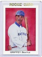 RC~KEN GRIFFEY JR 1989 Franklin Caramel 2nd Series ROOKIE CARD~89~HOF~MVP~AS~SEA