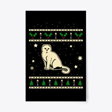 "Christmas Scottish Fold Gift Poster - 24""x36"""