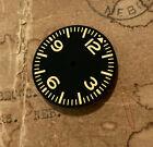 Dirty Yellow Pilot Aviation Aviator Sinn Style Vostok 2416b Watch Dial