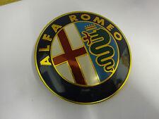 Nuevo Alfa Romeo Placa De Coche Placa Insignia sólido con 2 lengüetas en la parte posterior GTV localizar y Araña