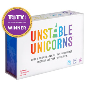 Teeturtle Unstable Unicorns Card Game 2nd Edition Brand New Sealed