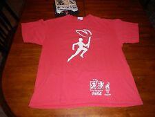 vtg coca cola 1996 atlanta olympic torch relay t shirt mens large always coke