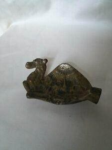 "Brass Camel Ashtray Vintage From Iran 5"" x 3"""