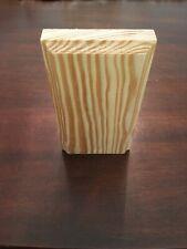 "Pine Plinth Blocks With Bevel (3-1/2"" x 6"") (Lot of 4) Brand New"