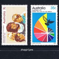 1972 - Australia - Christmas - set of 2 - MNH