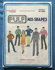 RARE - PULP 'MIS-SHAPES & SORTED' PROMO CD PRESENTED AS PATTERN - IN A5 ENVELOPE