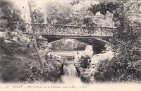ROYAT-LES-BAINS 38 LL pont rustique sur la tiretaine dans le parc