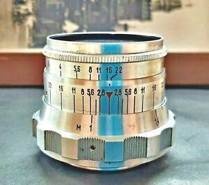 Vintage Lens Industar I-26m 2.8 / 52 USSR For Macro Shooting On SLR Cameras