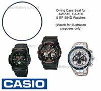 Genuine Casio Watch Case O-ring Seal for AW-510, GA-100, GA-200, GA-30 & EF-554D