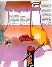Fiat 127 Parole Trefwo Orden Psychedelic Brochure Catalog 1971 Dutch Language