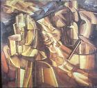 """Marcel Duchamp """"King & Queen"""" Dada 35mm  Art Slide"""