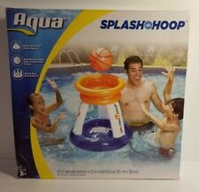 Float Basketball Hoop Pool Inflate Baby Outdoor Kids Fun Aqua Game Family Water