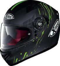 NEU X-Lite Helm X-661 Spox N-Com grün matt Gr. S = 55/56 mit Sonnenblende